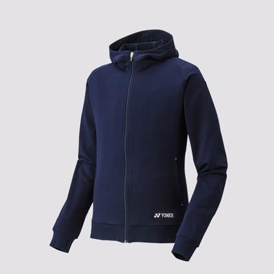 Yonex Woman's Full Zip Hoodie 39002 - Dark Blue