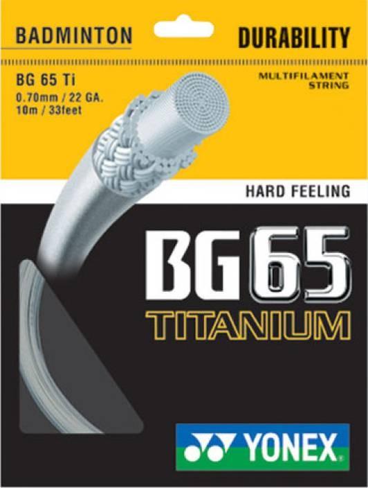 Yonex BG 65 Titanium (Coil)