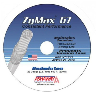 Ashaway Zymax 67 - coil 200 meter