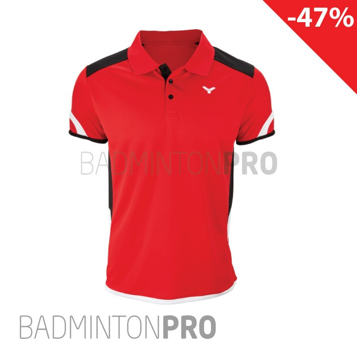 Victor Heren Polo 6727 Rood