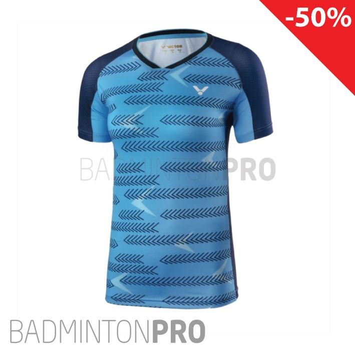 Victor Dames Shirt 6649 blauw