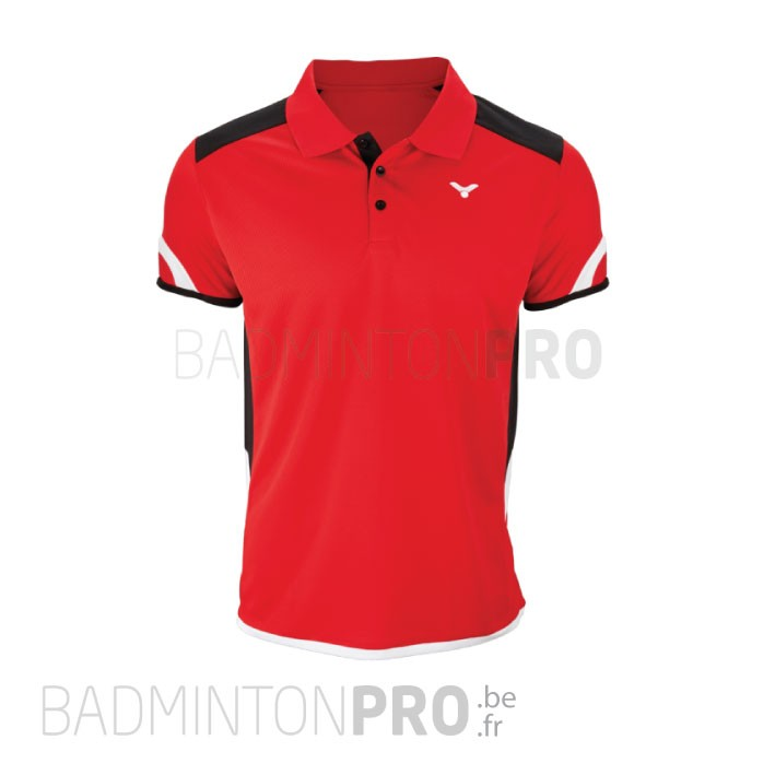 Victor Heren Polo 6727 Rood Promo