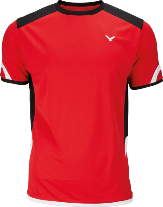Victor Kids Shirt 6737 Rood promotie