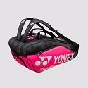 Yonex Pro Racketbag - 9829 - 3 vakken-pink