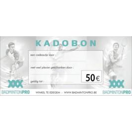 Kadobon badmintonpro