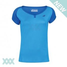 Babolat Play Cap Sleeve Shirt Blauw