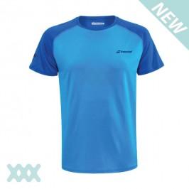 Babolat Junior Play Crew Neck T-Shirt Lichtblauw