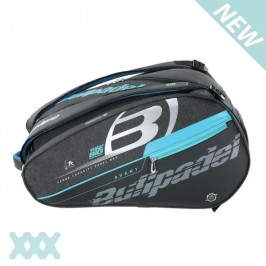 Bullpadel Racketbag Padel BPP 21005 zwart charcoal blauw