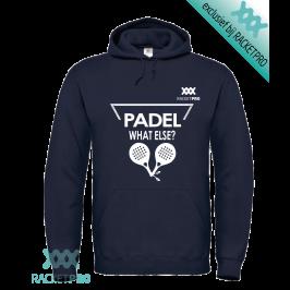 Padel Hoodie Racketpro 'What Else?' Navy