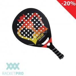 Padel Racket Black Crown Masai