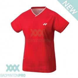 Yonex Dames Shirt YW0026EX Rood
