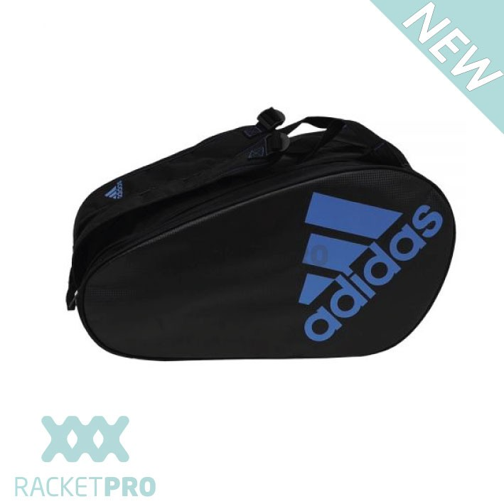 Adidas padel racket bag control blauw