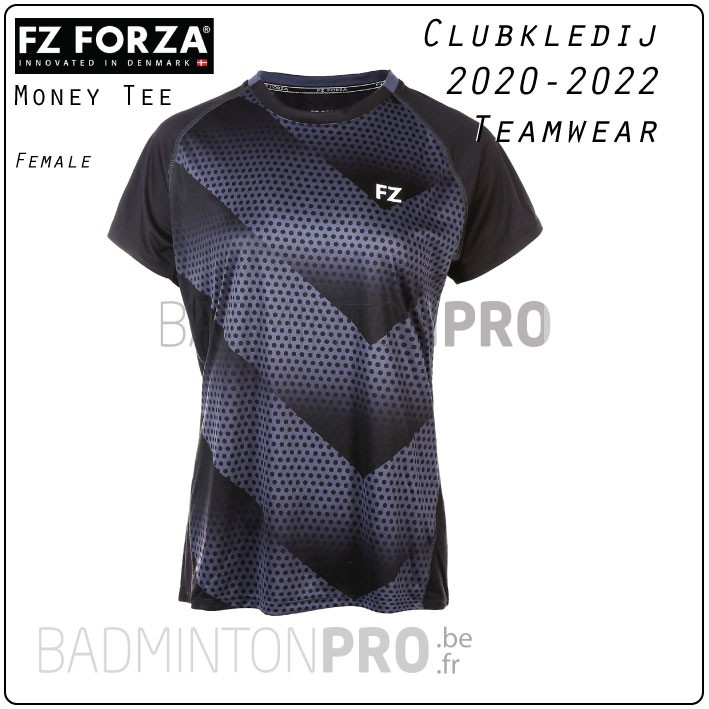 Forza Teamwear clubkledij Money Tee Black
