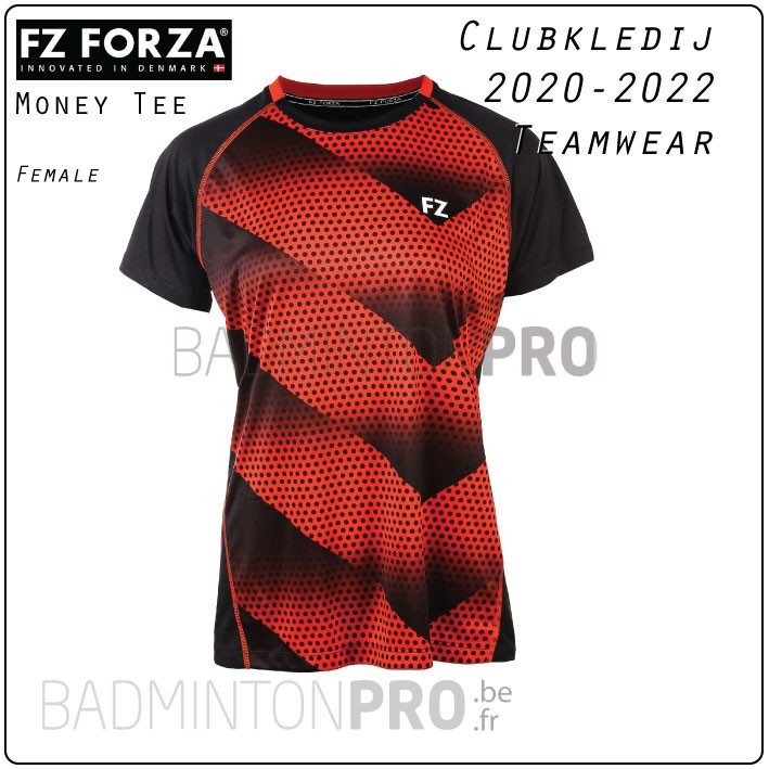 Forza Teamwear clubkledij Money Tee Red