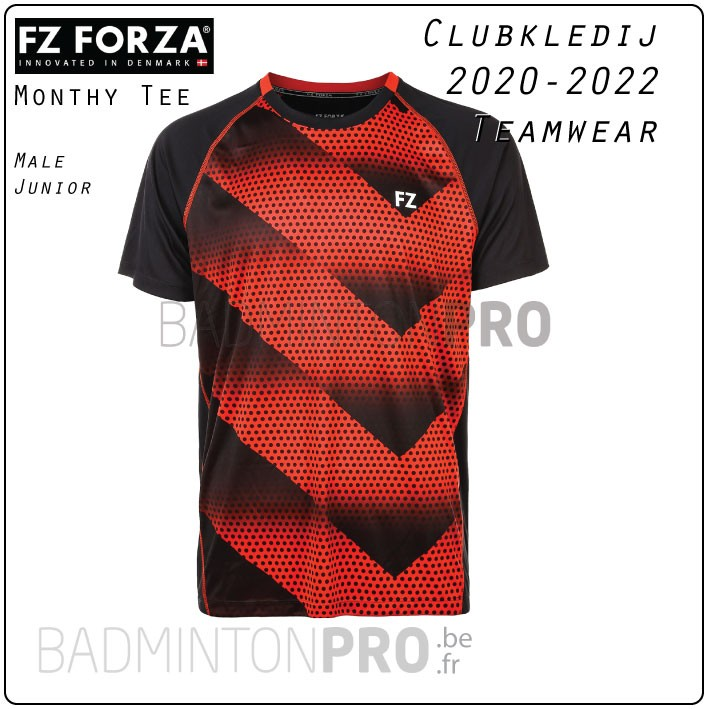 Forza teamwear clubkledij Monthy Tee shirt