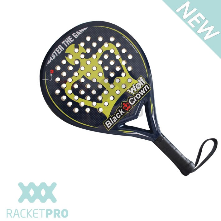 Padelracket Black Crown Wolf