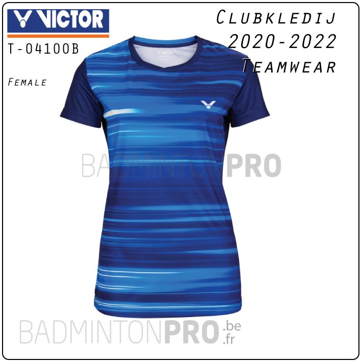 Victor Teamwear T-04100B lady