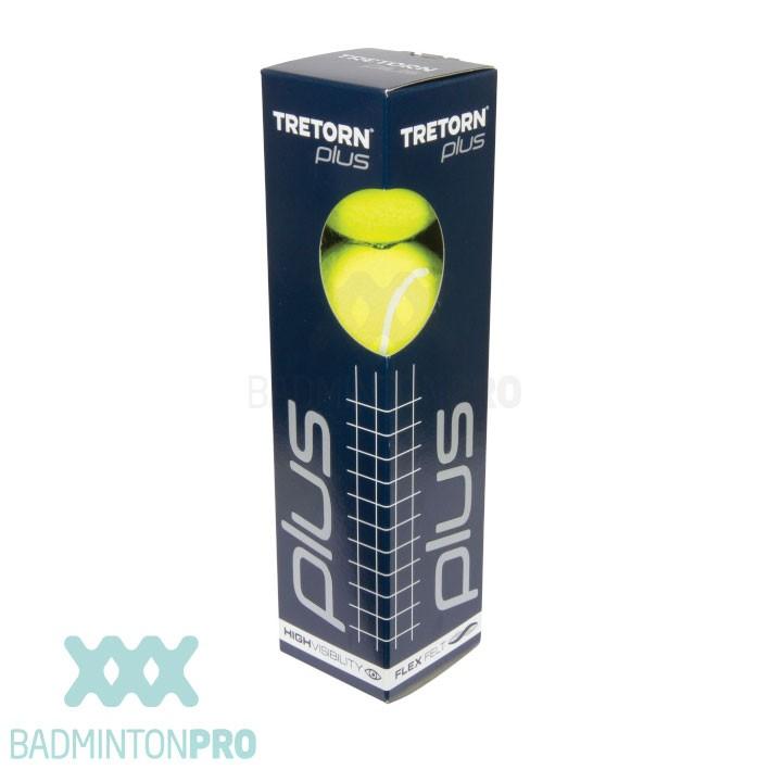 Tretorn Plus Tennisballen 4-pack