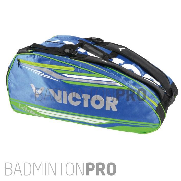 Victor Multithermo Racketbag 9038 (3 vakken) blauw