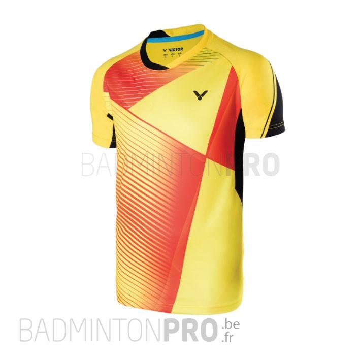 Victor Heren Shirt 6347 Geel Promo