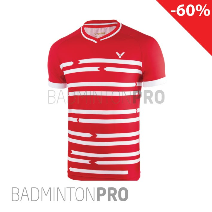 Victor Shirt Denmark 6628 Red