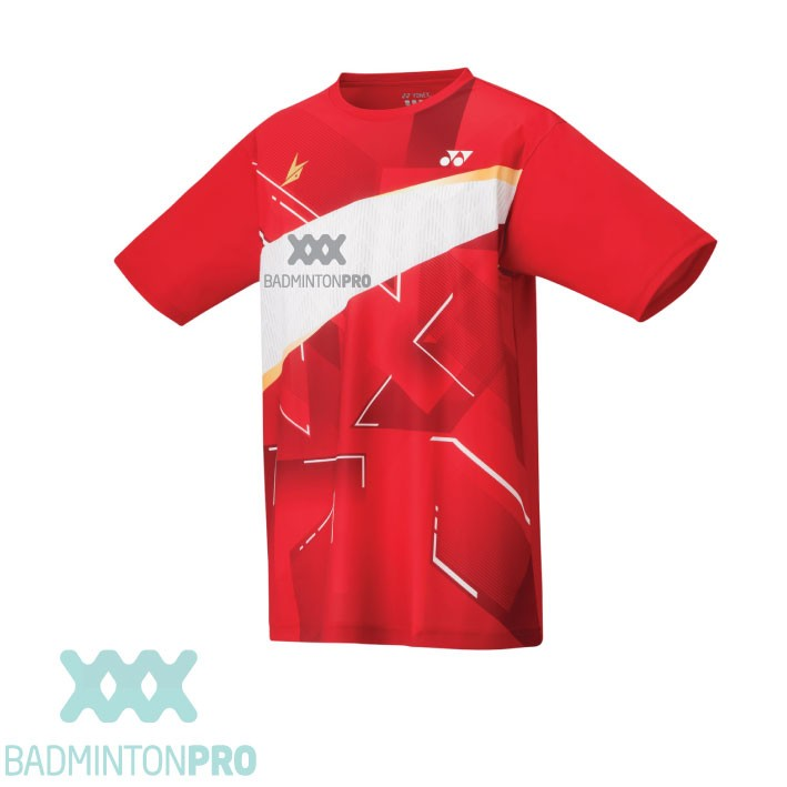 Yonex Heren Shirt 16440EX Lin Dan rood