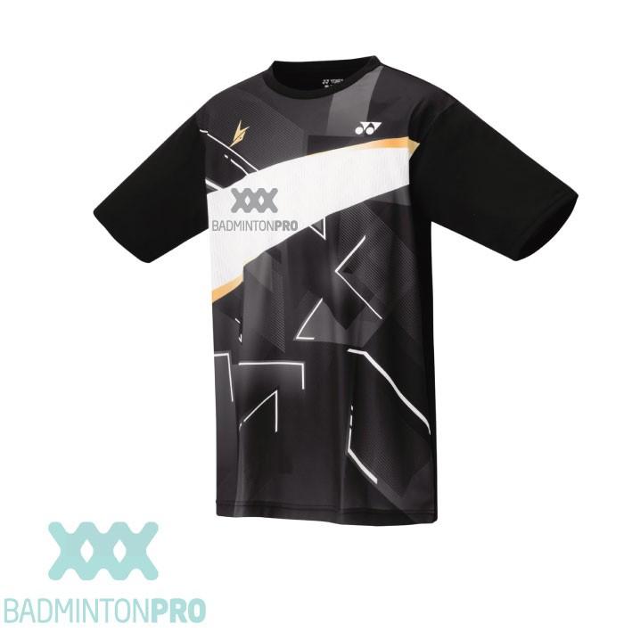 Yonex Heren Shirt 16440EX Lin Dan Zwart