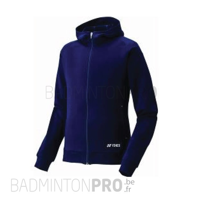 Yonex Woman's Full Zip Hoodie 39002 - Dark Blue