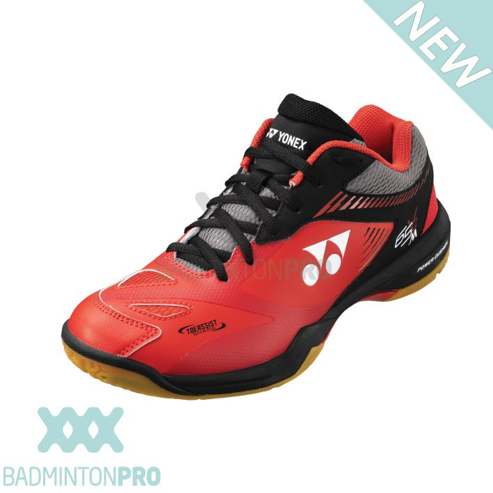 Yonex SHB65 X2 Rood Zwart Badminton schoen