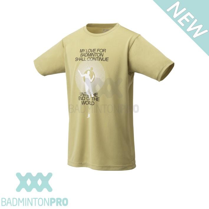 Yonex Heren Shirt 16564EX Lin Dan khaki