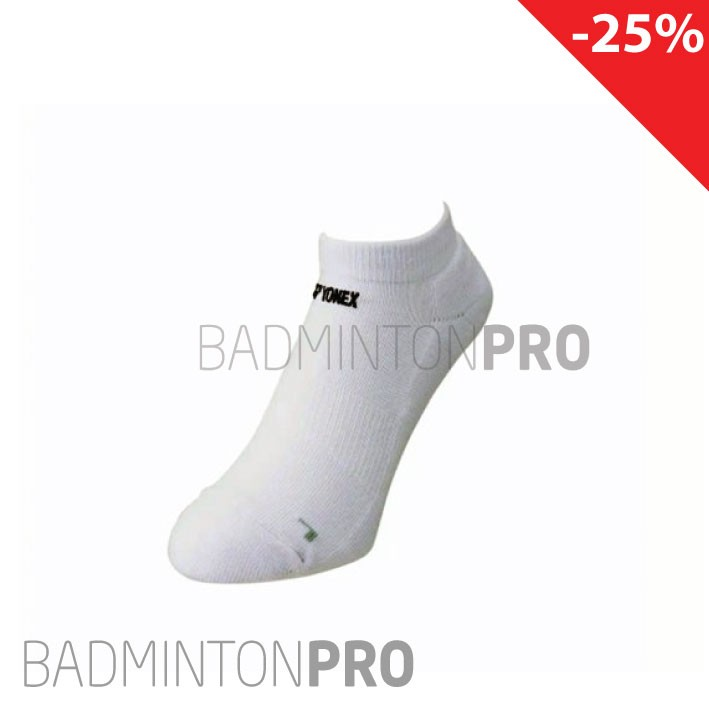 Yonex Low cut invisible sock sok chaussettes SS9102 wit white blanches