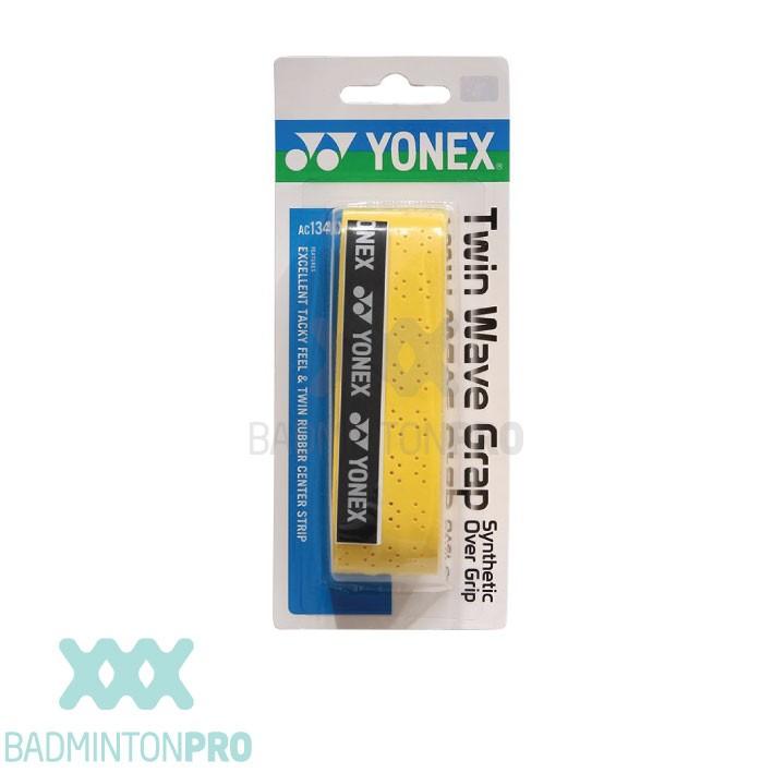 Yonex Twin Wave Grap AC134 Badmintongrip geel