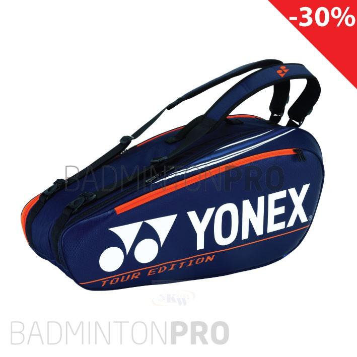 Yonex Pro Racketbag 92026 Blauw Oranje